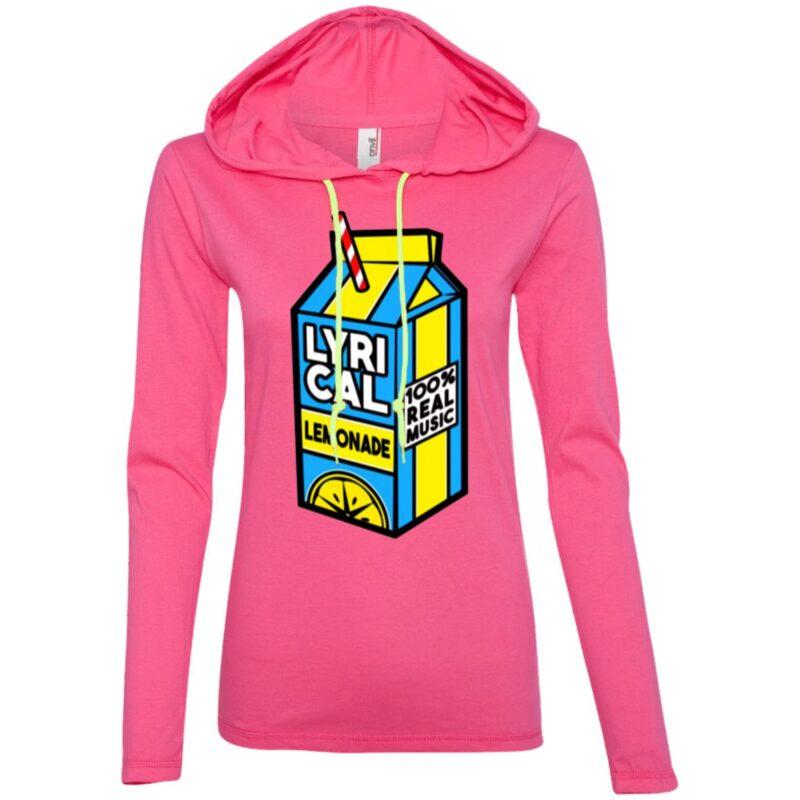 Lyrical Lemonade Anvil Ladies' LS T-Shirt Hoodie